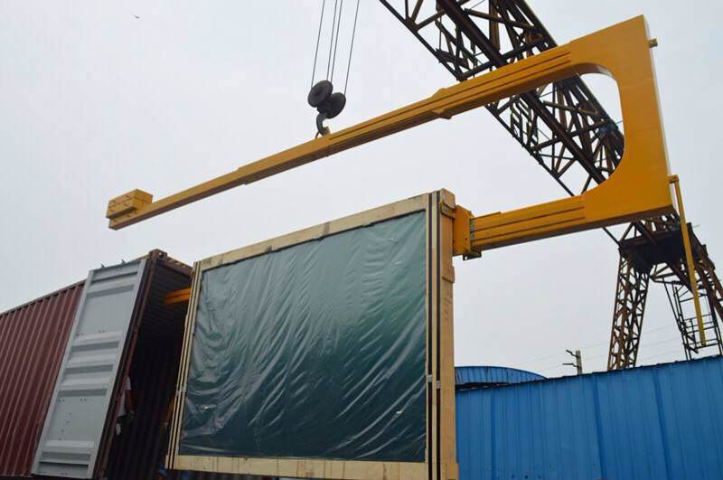 U Shape Container Glass Lifting Crane