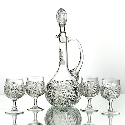 """Neman"" Crystal glassware"