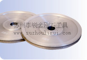 Special grinding wheel for auto glass