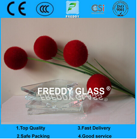 10mm Ultra Clear Float Glass/ Extreme Clear Float Glass/High Quality Glass