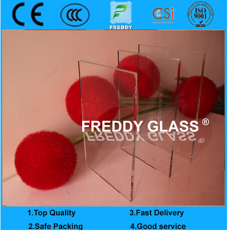 Ultra Clear Float Glass/ 4mm/Low Iron Glass/Clear Glass/Building Glass