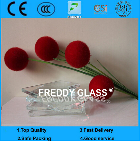 Hot Sale 10mm Low Iron/ Extra Clear / Ultra Clear Float Glass with CE Certification