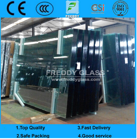 Clear/Tinted/Reflective/Sheet/Tempered/Laminated Float Glass for Building Glass/Constructive Glass