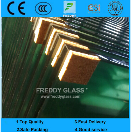 19mm Tempered Glass/ Clear Toughened Glass