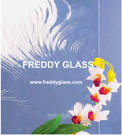 6mm, 8mm, 10mm Clear Baraque Patterned Glass for Meeting Room/Good Quality Glass