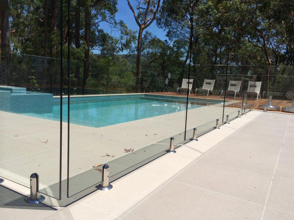 8--12mm Toughtened Glass Pool Fencing with AS/NZS 2208:1996 Certificate