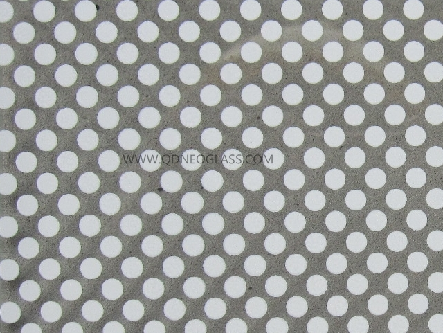 Toughened/Tempered Glass With Silk Screen Print/Ceramic Frit-AS/NZS 2208:1996, CE, ISO 9002
