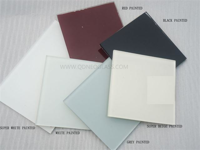 3-8mm Back Painted Glass-Ultra Clear/Low Iron,White,Black,Red