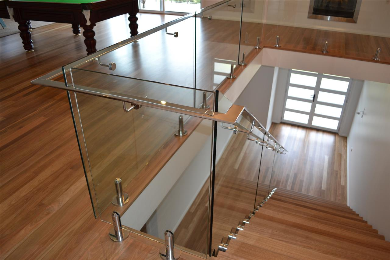 Toughened Glass Staircase with EN 12150 & AS/NZS22208