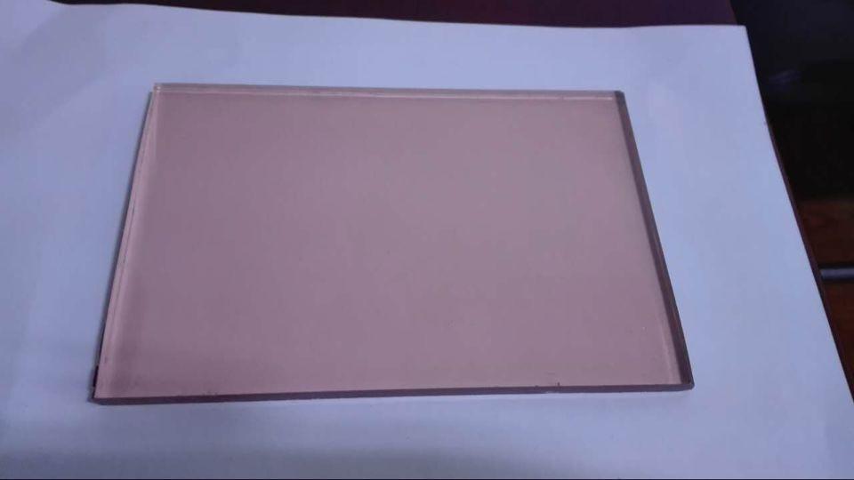 pink glass, color glass, tinted glass, pink reflecitve glass