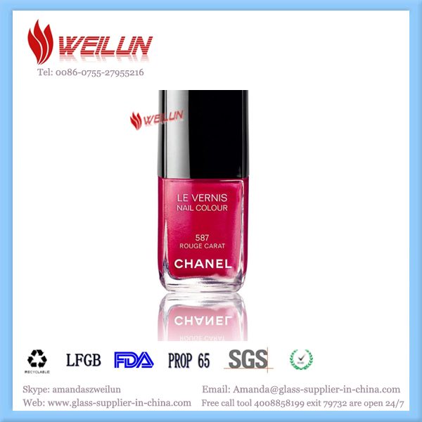 nail polish glass bottle factory