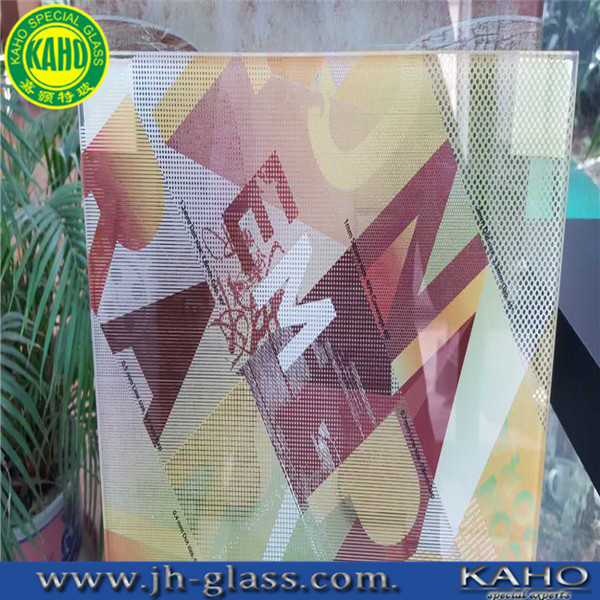 Digital printing glass