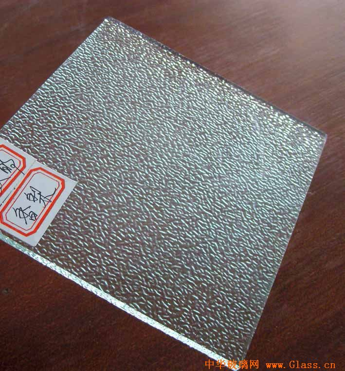 clear nashiji patterned glass