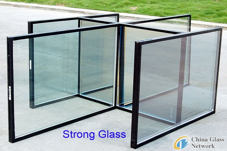 Insulated glass unit.