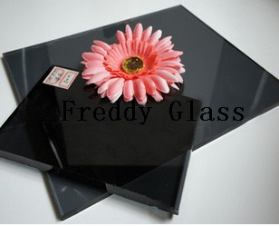 10mm Black Float Glass/Float Glass/Tinted Float Glass/Tinted Glass