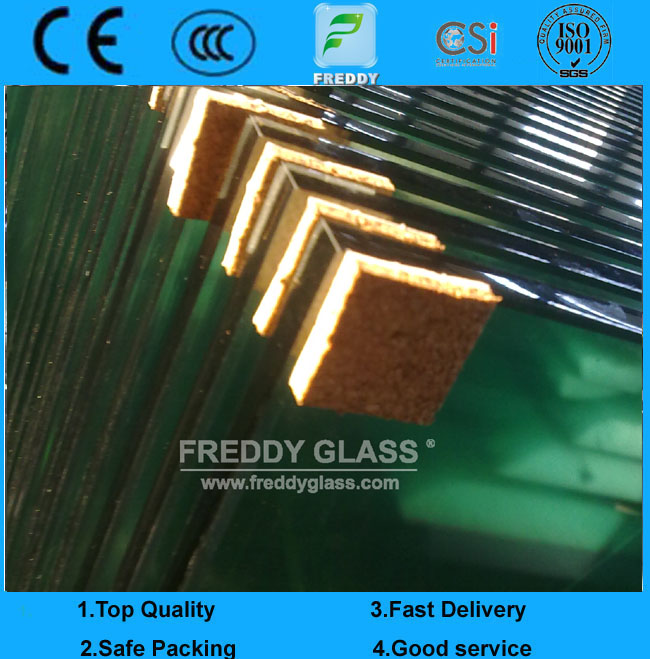 1.8mm-25mm Clear Float Glass/Mirror Glass Grade Float Glass Reflective Glass Tempered Glass/ Laminat