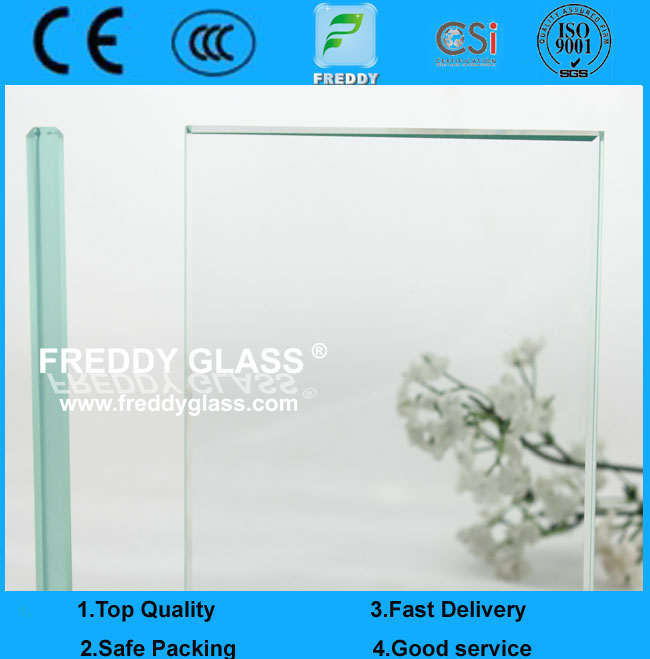 6.38mm/12.38mm Safety Clear and Colored Tempered Laminated Glass