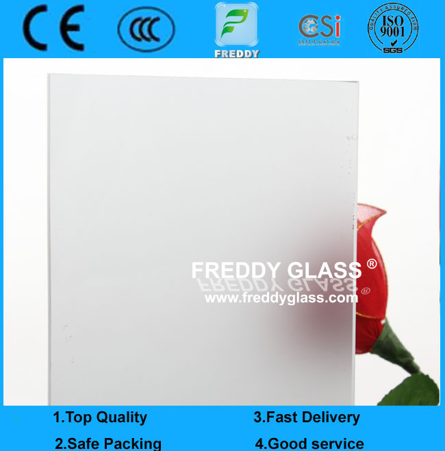 6mm-8mm Silk Screen Printing Tempered/Toughened Glass Door for Furniture