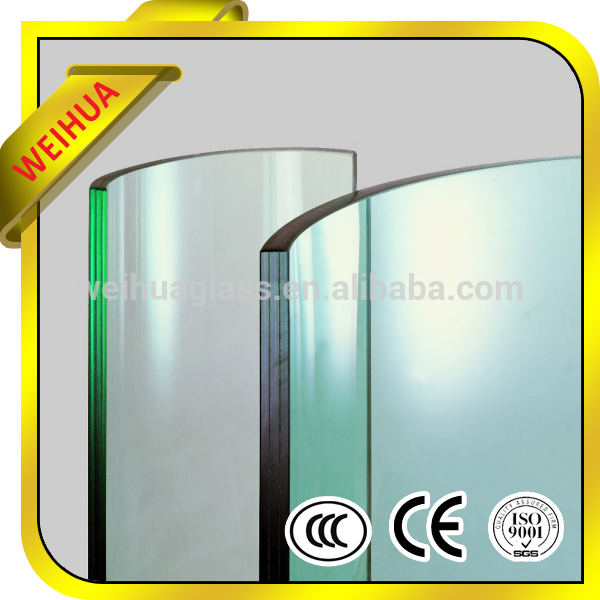 Colored/clear tempered glass, 12mm toughened glass with CE approved