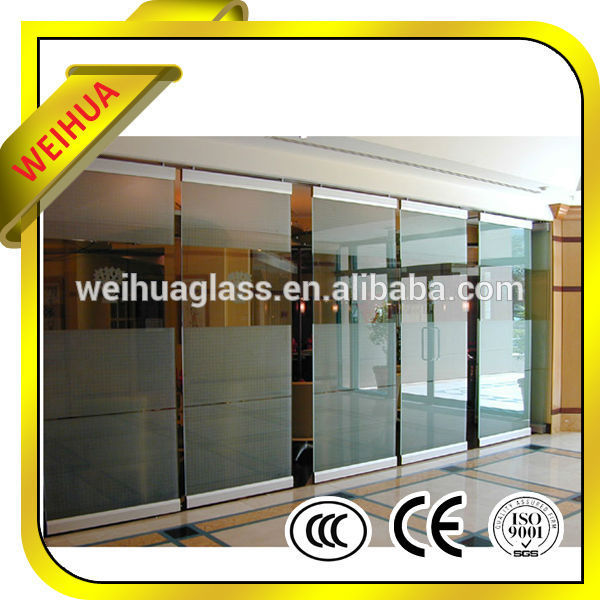 Shandong Weihua 6mm tempered glass price