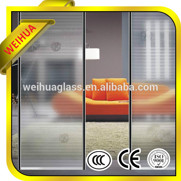 10mm 12mm tempered glass door with holes and hinges
