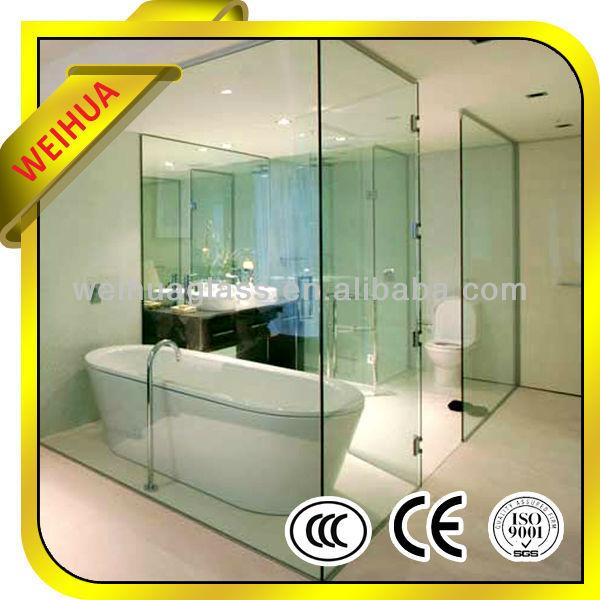 8mm 12mm tougheend glass for glass partitionm shower wall