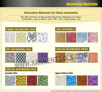 Decorative Interlayer Film For Laminated Glass