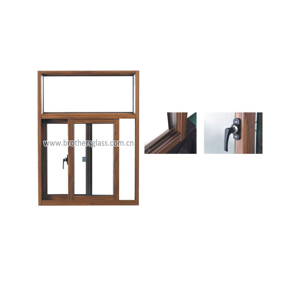 SWT80 thermal break sliding window