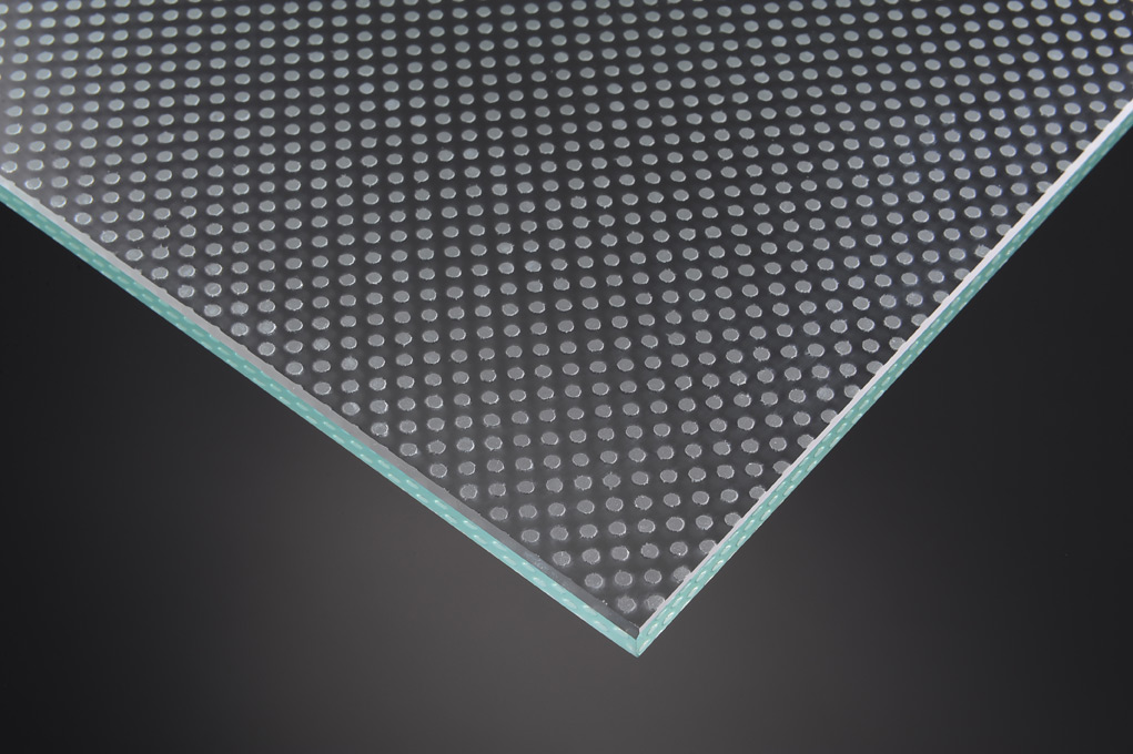 anti-slip glass