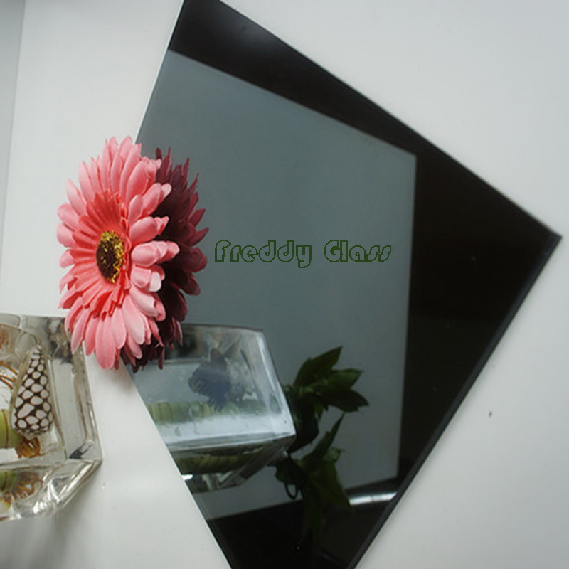 5mm Dark Grey Reflective Glass/Tinted Glass/Float Glass/Colored Reflective Glass