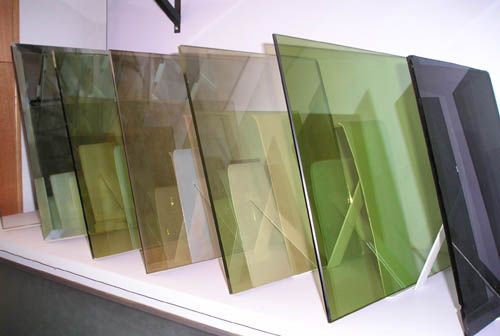3-12mm Coated Glass, Bronze, Grey, Blue, F-Green, Gold, Pink, CE, ISO, CCC