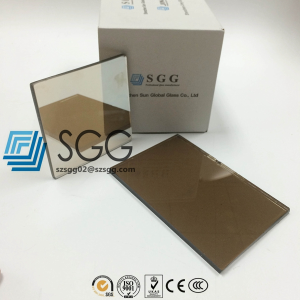 Euro Bronze Reflective Glass Price 4mm 5mm 5.5mm 6mm 8mm 10mm Bronze Reflective Glass