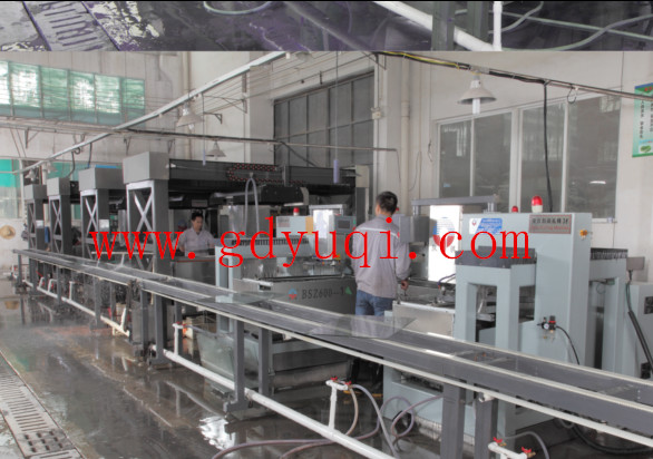 drilling & edging production line