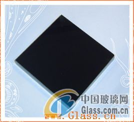 3-19mm Pure Black glass, tined black glass, for furniture, bathroom, building