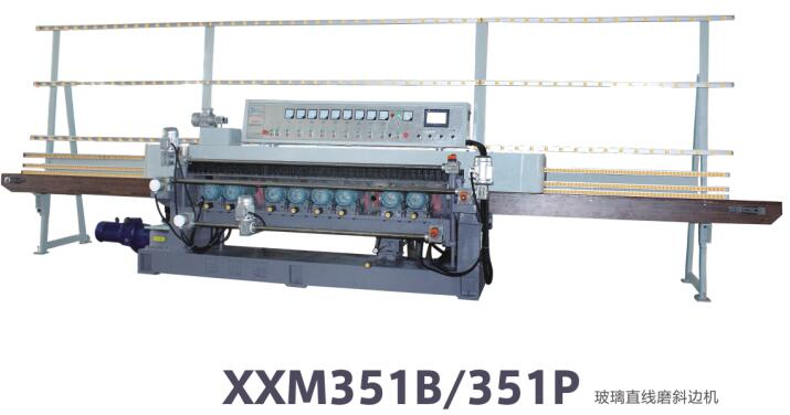 Straight line bevellng machine