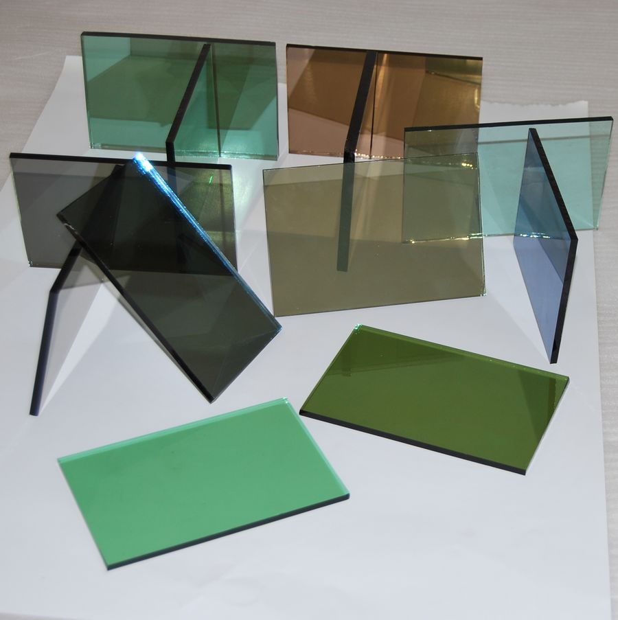 5mm green jade reflective glass products