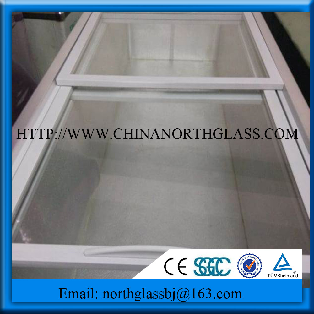 Insulated Glass For Horizontal Refrigeration Glass Door