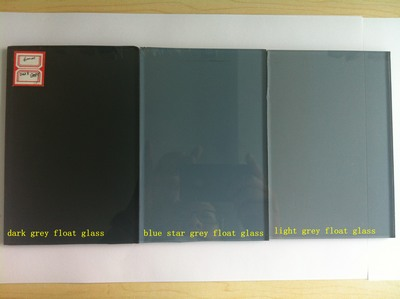 5 mm bluecrystal gray glass