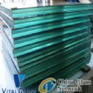 Clear/Blue/Grey/Bronze Laminated Glass for Building Glass with Csi