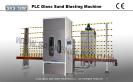 PLC Control Glass Sandblasting Machine Sandblaster Machine