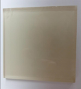 White Painting Glass