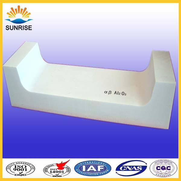 Fused Cast Alumina Brick for glass bottle furnace