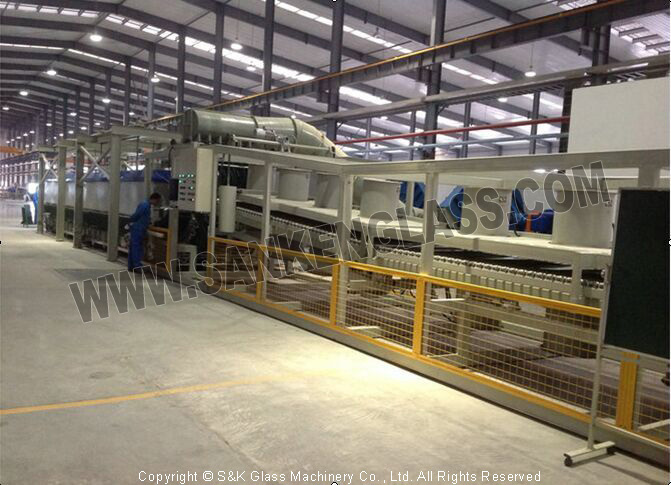 Auto Side Windows Glass Bending & Tempering Line