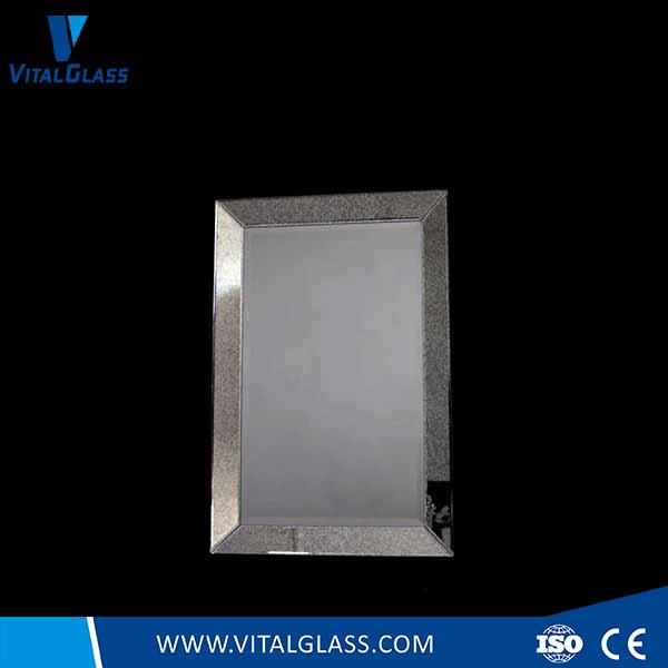 Frame Decorative Silver Mirror