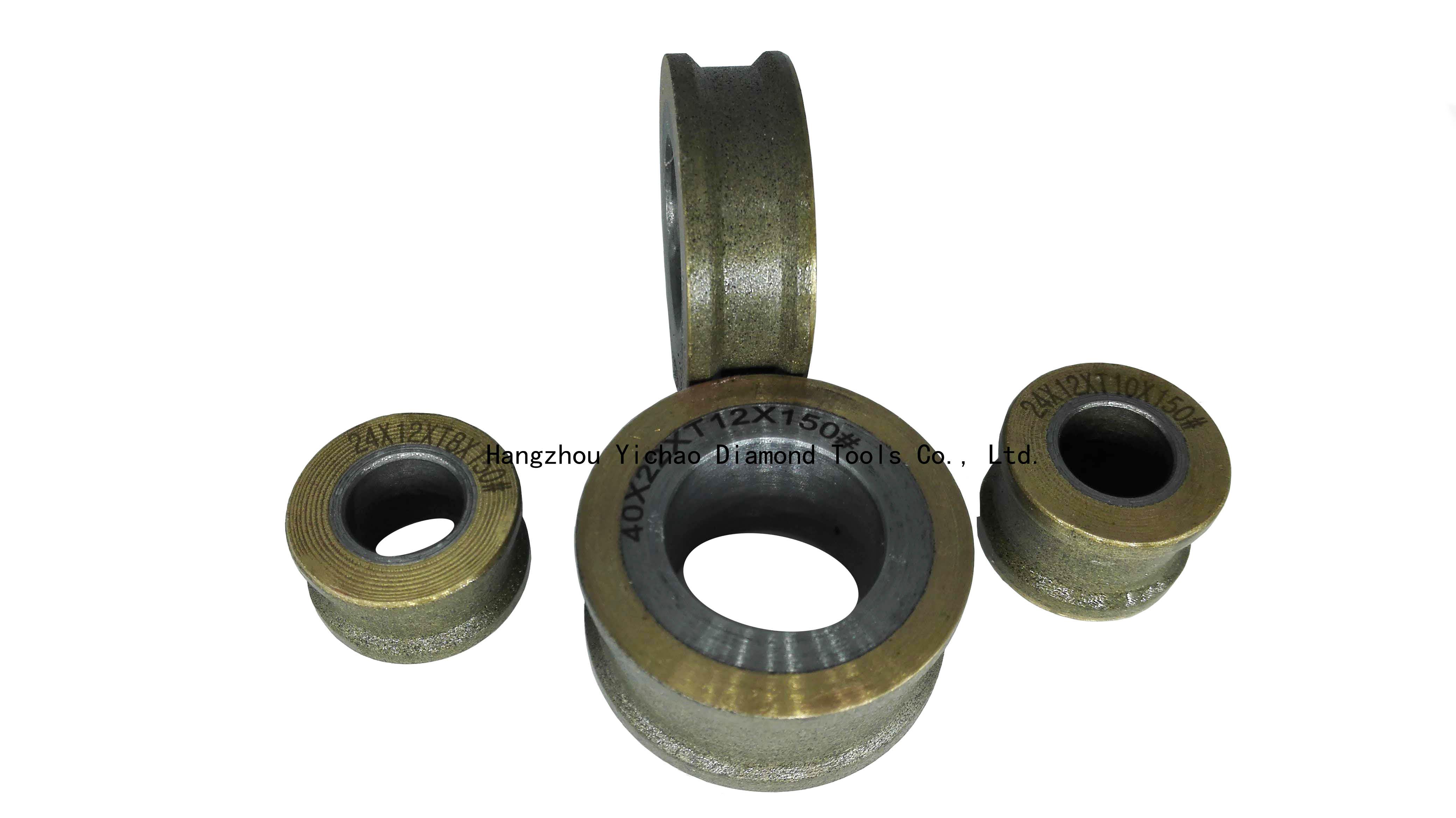 Inner hole glass grinding wheel