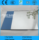 3mm Clear Aluminum Mirror with Blue Back Color
