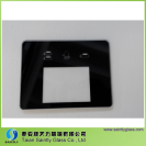 *3mm low iron tempered printing glass panel for coffee machine