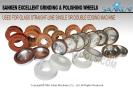 New Diamond Wheels and Glass Polishing Wheels For Sale