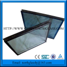6+12A+6 Clear safe tempered hollow glass insulated glassted glass, hollow glass