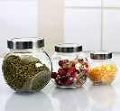 Wholesale small glass jars with kinds of lids